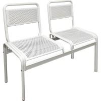 Скамейка металлическая двухместная М-111-06