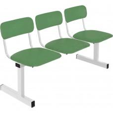 Секция стульев трехместная М-113-03