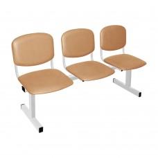 Секция стульев трехместная М-118