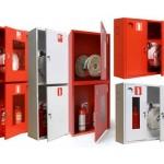Пожарные шкафы, щиты, стенды, ящики для песка, шанцевый инструмент
