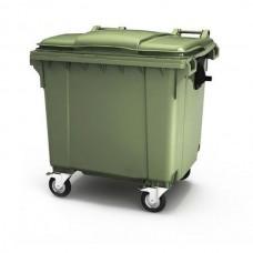 Мусорный контейнер 660 л с крышкой