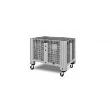 Контейнер iBox 11.602.С13 перфорированный на колесах