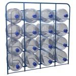 Стеллажи для бутылей с водой СВД